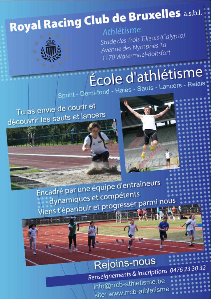 Ecole d'athlétisme